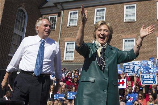 Hillary Rodham Clinton, Terry McAuliffe_128389