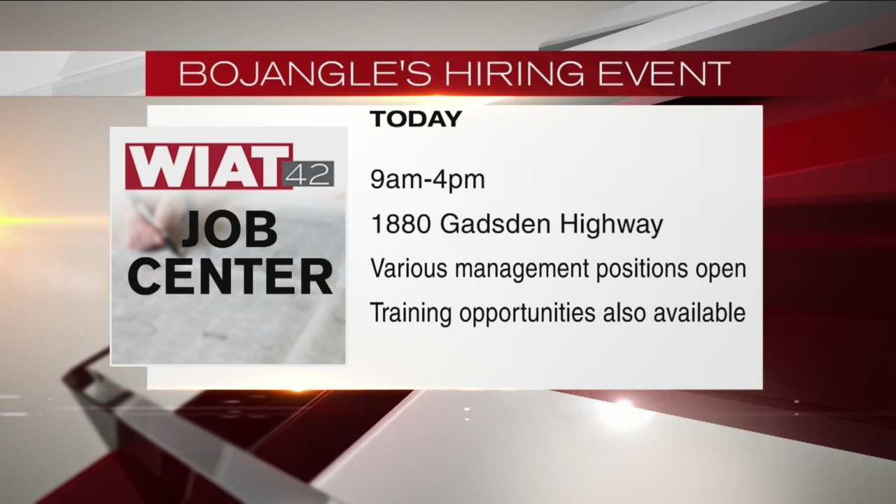 Bojangles hiring fair_175305