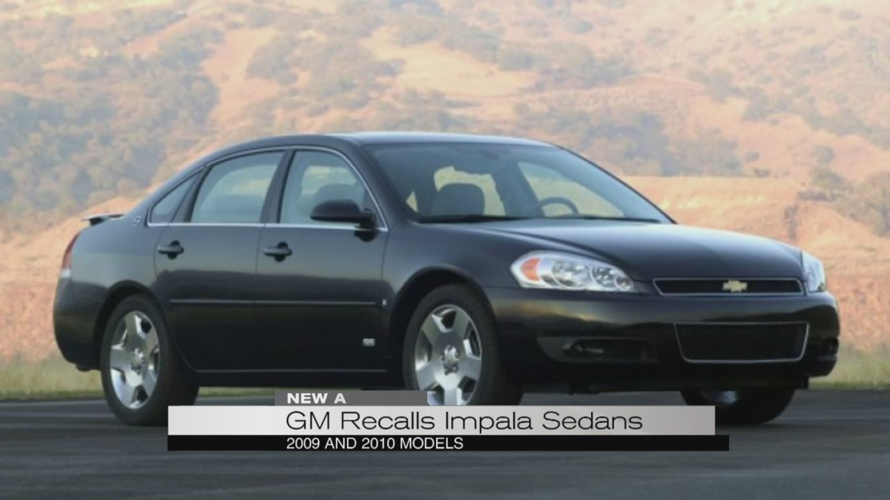 GM recalls Impala sedans_183021
