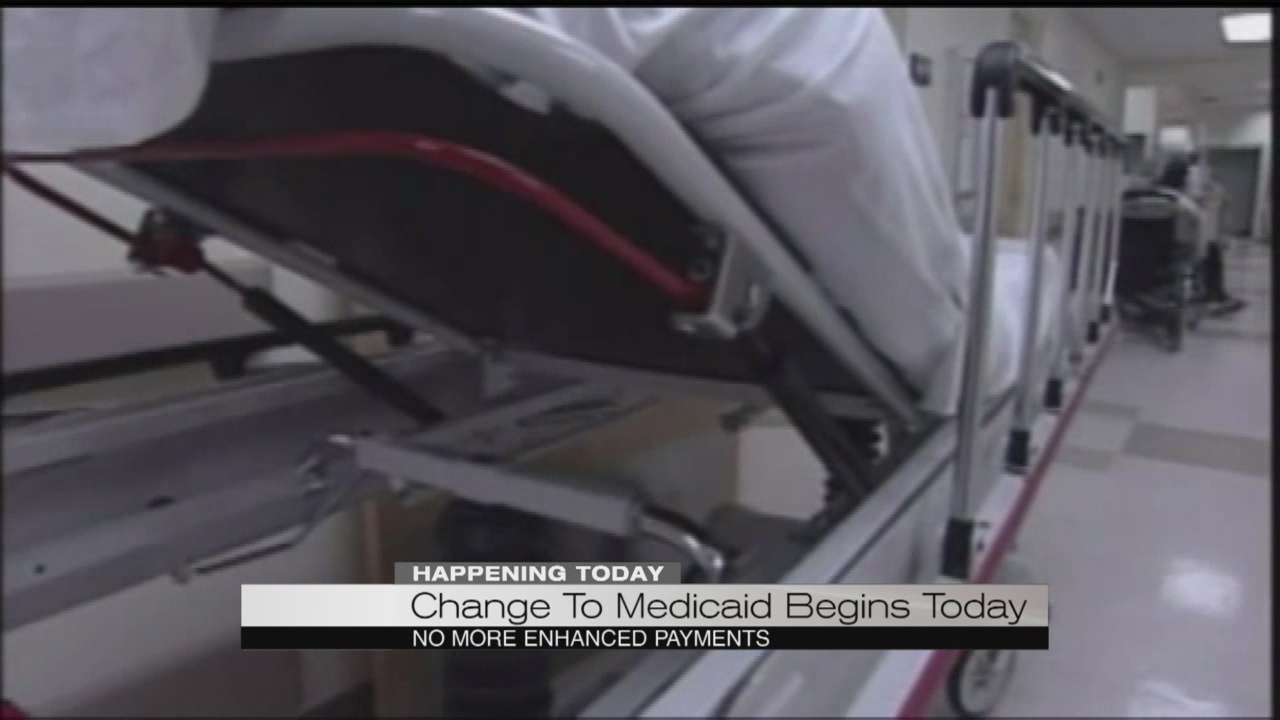 Change to Medicaid begins today_185015