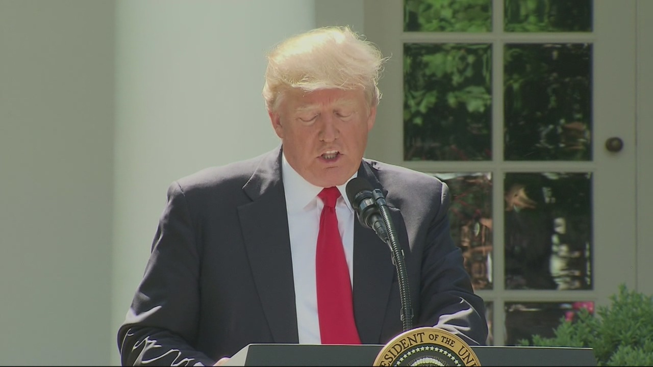 U.S. leaves Paris climate agreement