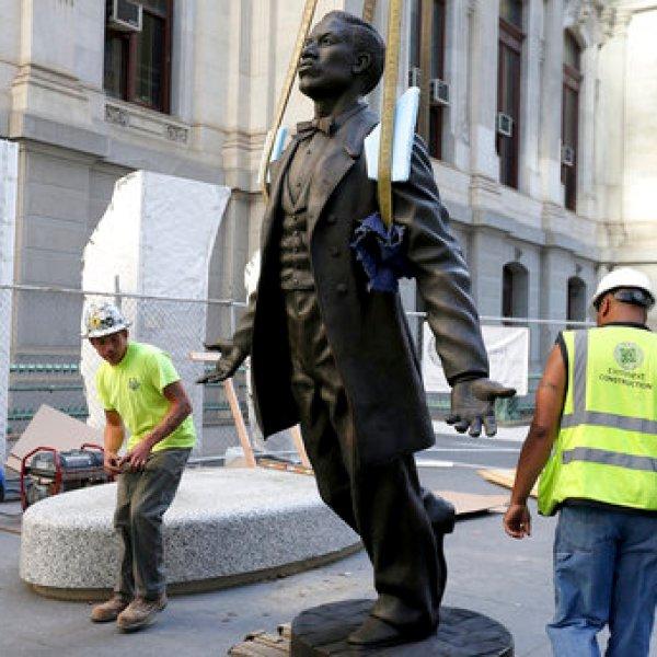Philadelphia Black Activist Statue_316501