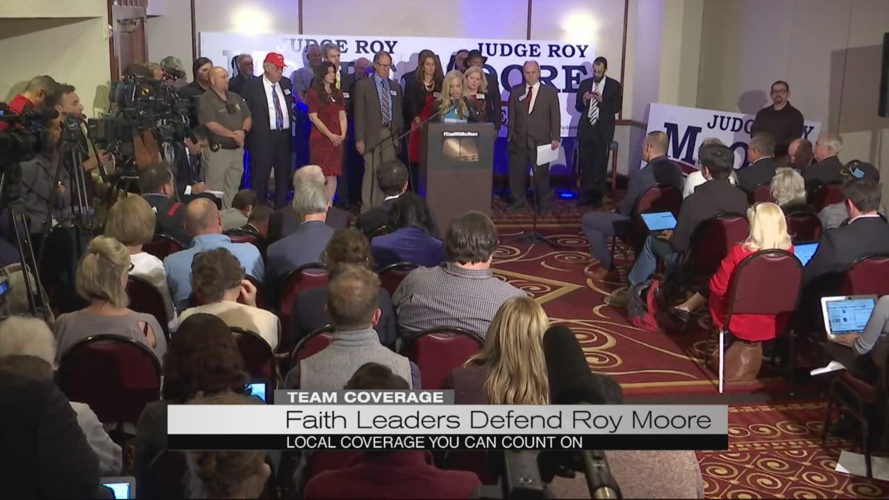 Faith leaders defend Roy Moore