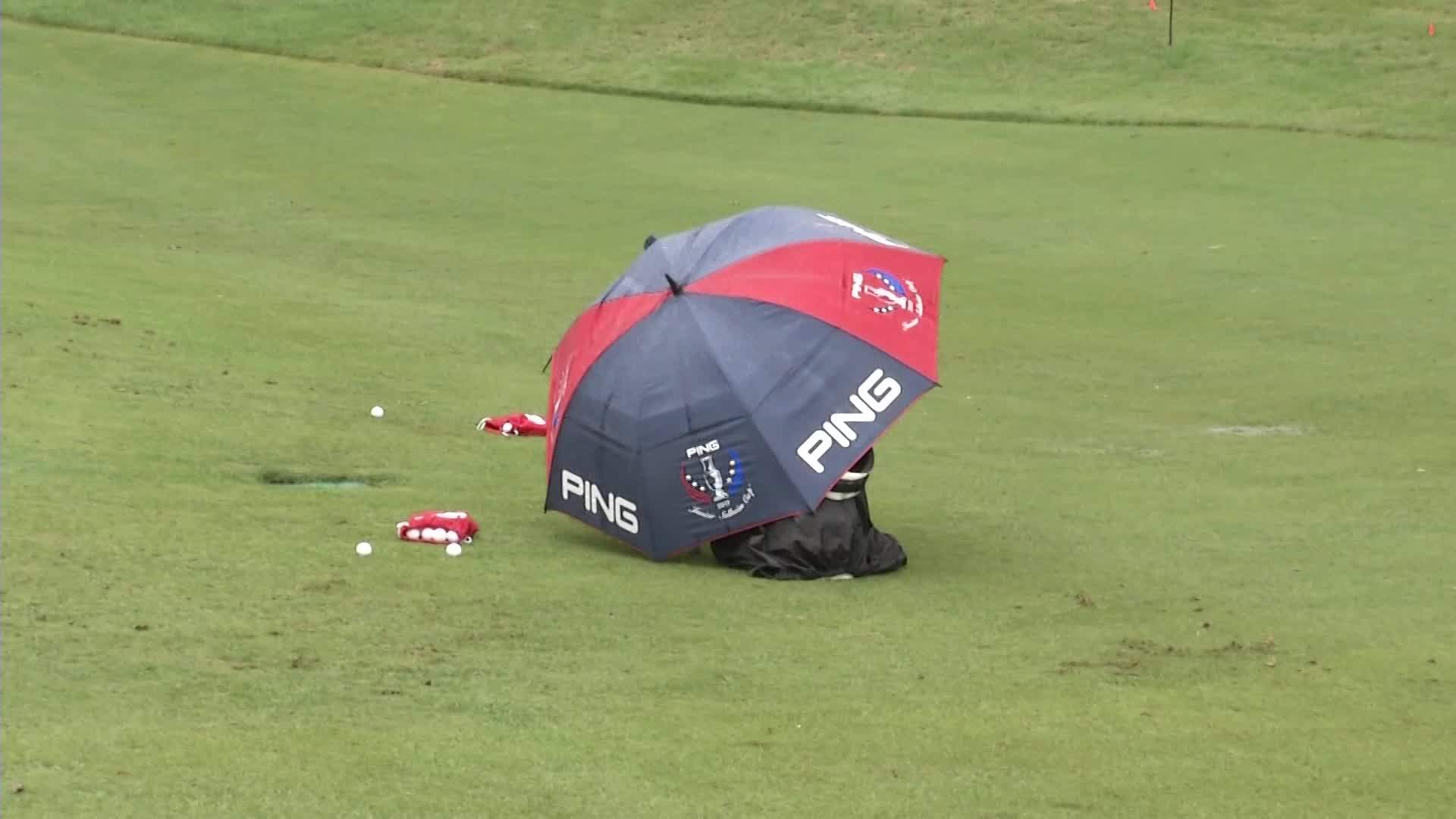 Soggy Start at Shoal Creek