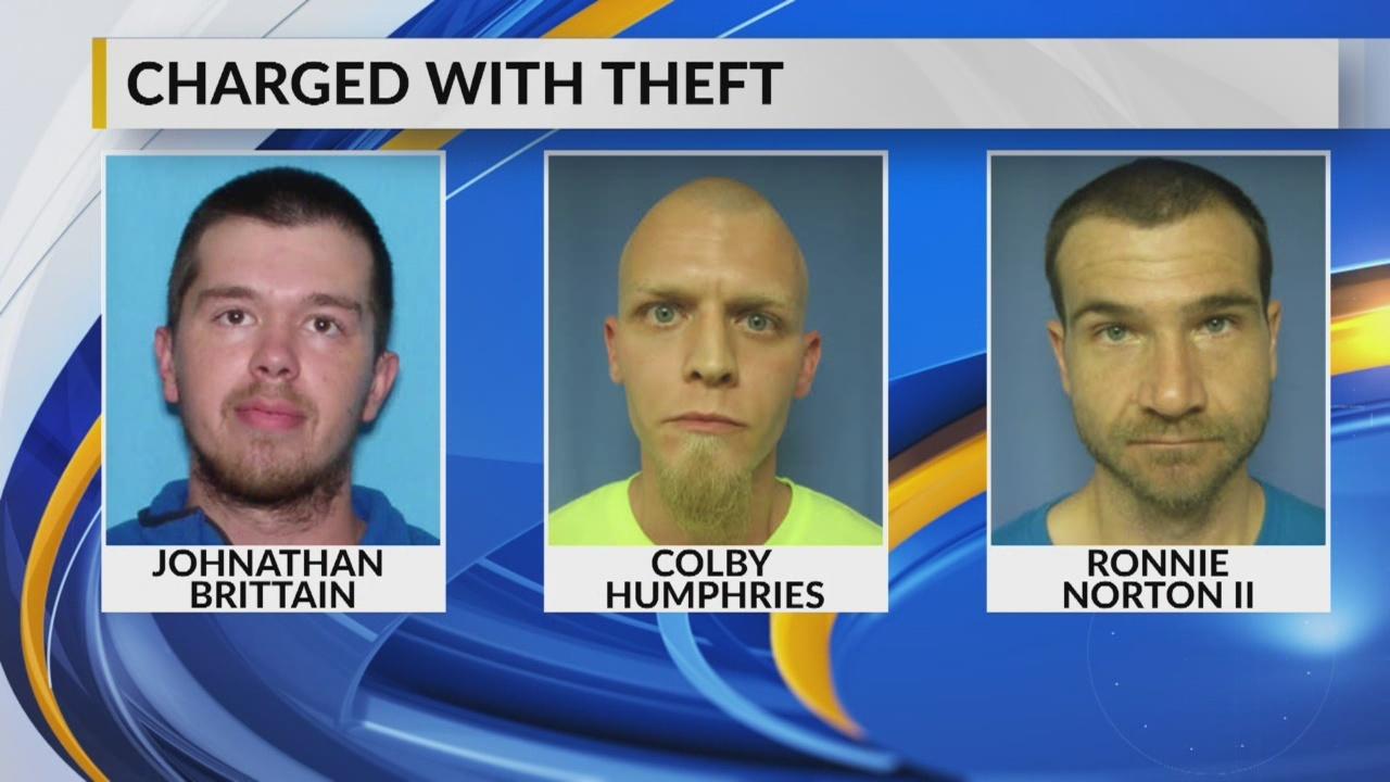 Cemetery theft arrest