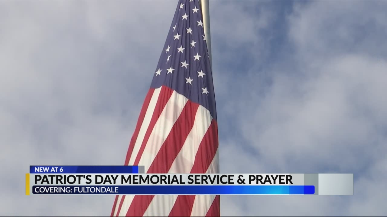 Patriot's day memorial service and prayer - Fultondale