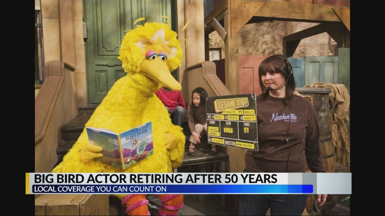 Big Bird actor retiring after 50 years