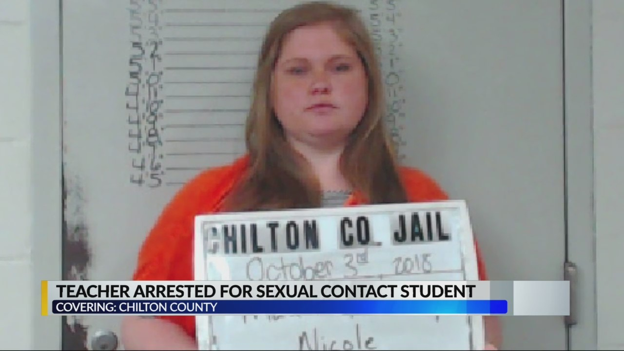 Chilton Co teacher arrested for sexual contact with students