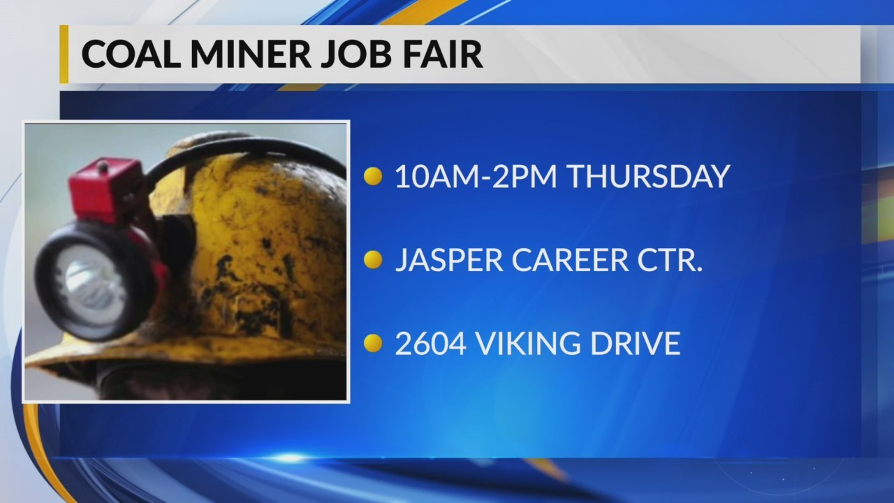 Coal miner job fair
