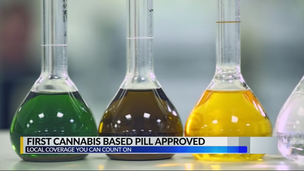 First cannabis based pill approved
