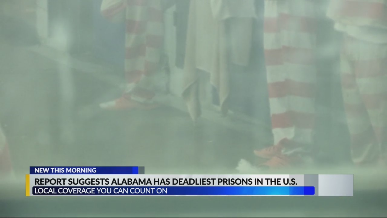 Alabama has deadliest prisons