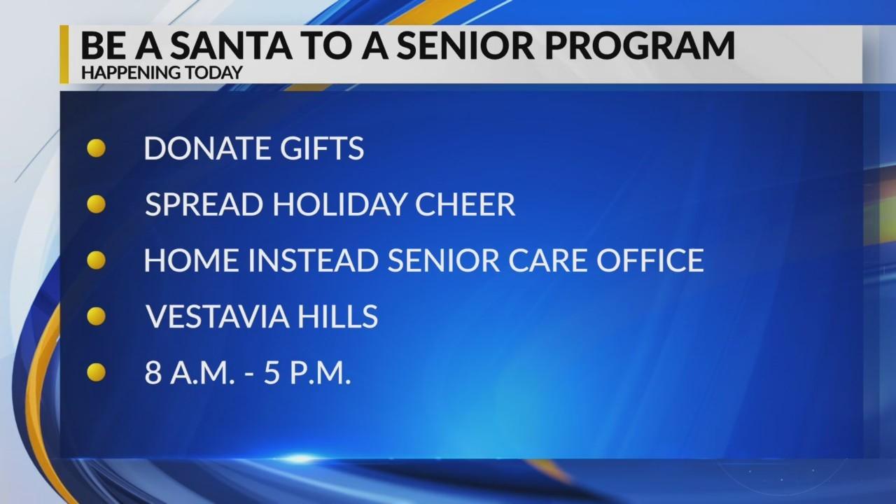 Be a Santa to a senior