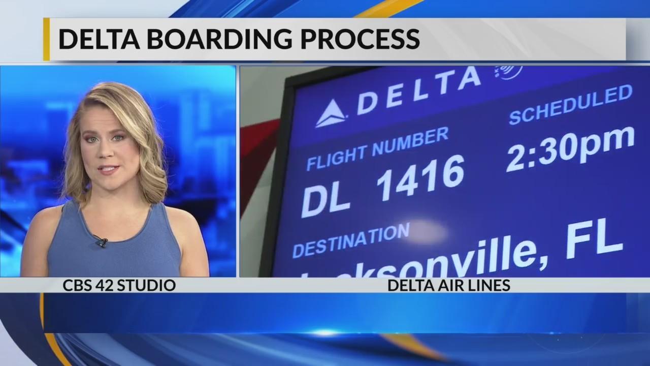 Delta Boarding Pass