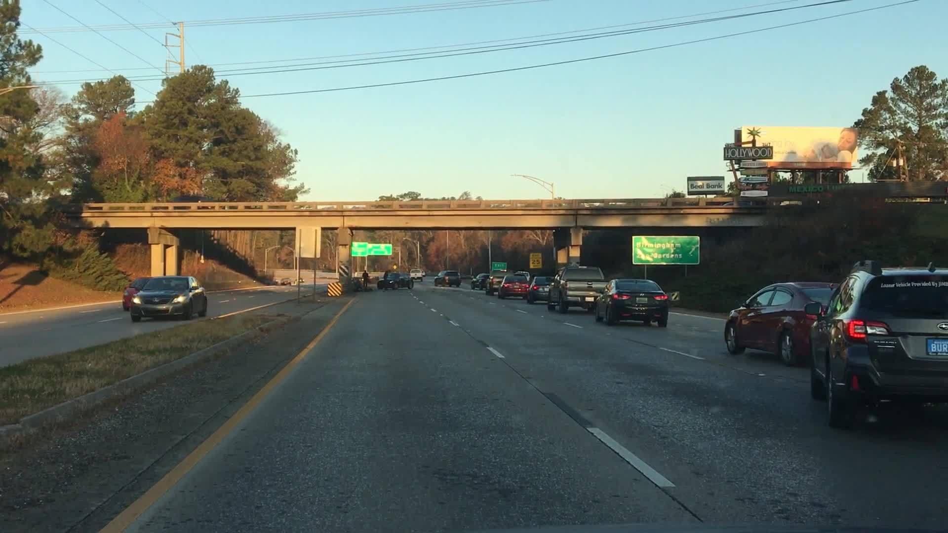 Highway 280 Wreck 2