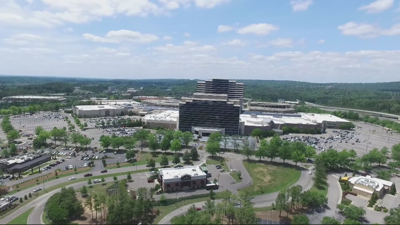hoover alabama richerchase galleria aerial drone image cbs42_261581