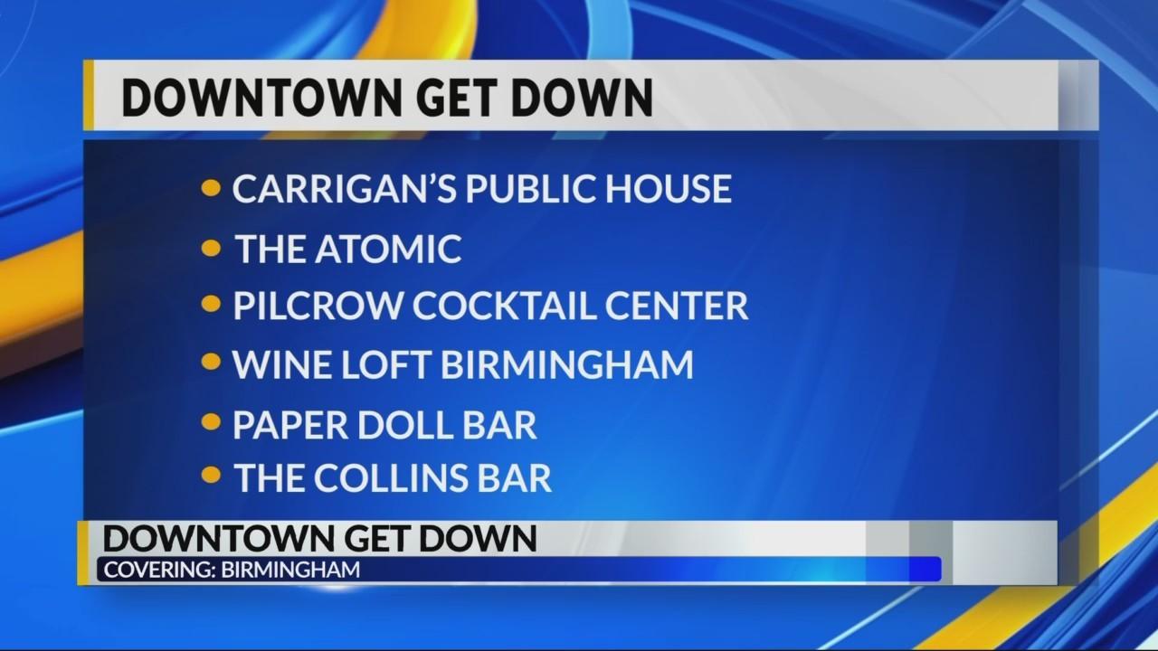 Birmingham Downtown Get Down NYE Celebration