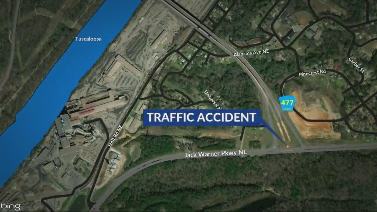 Fatal crash involving 18-wheeler in Tuscaloosa