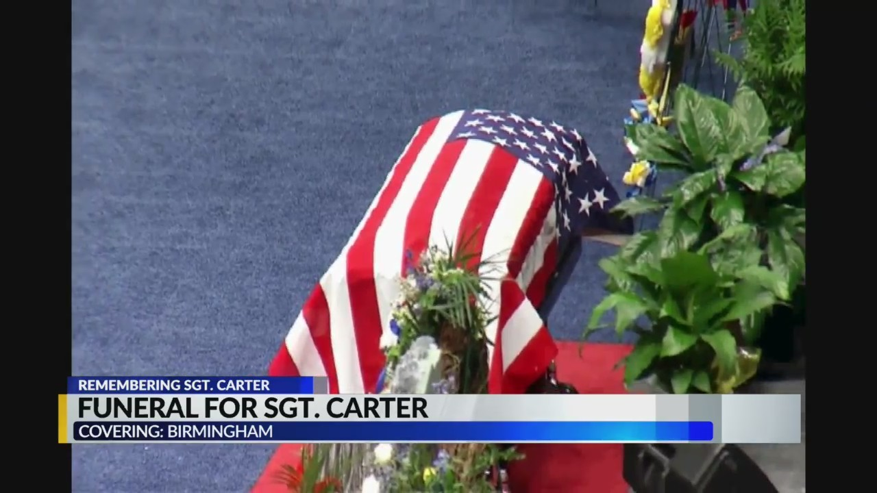 Funeral for Sgt. Wytasha Carter