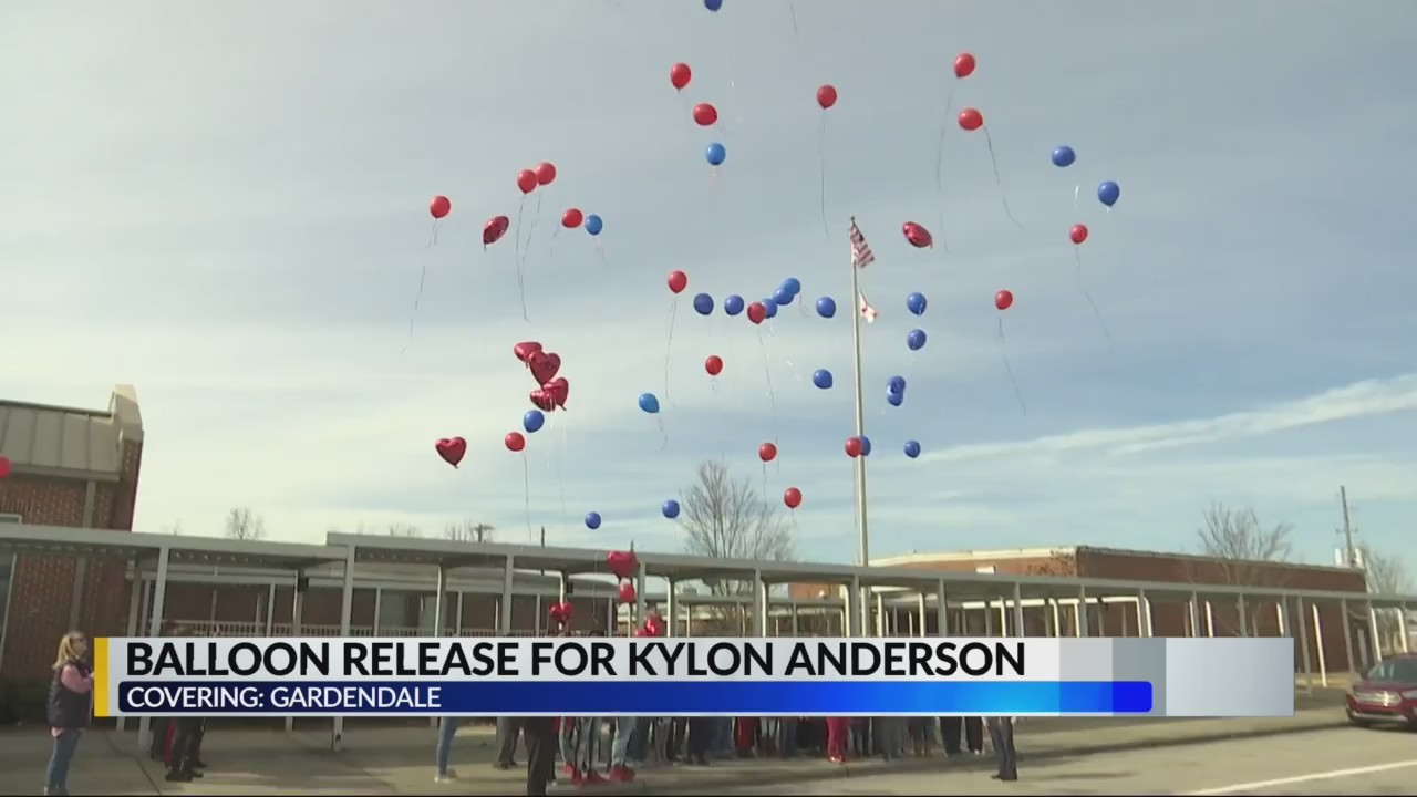 Gardendale Elementary release balloons to honor 3rd grader who passed away