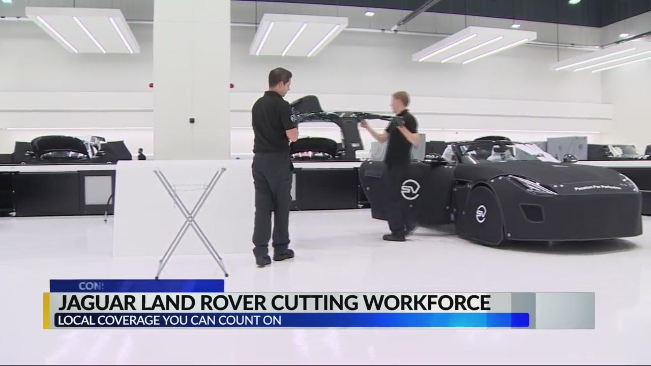 Jaguar-Land Rover cutting workforce