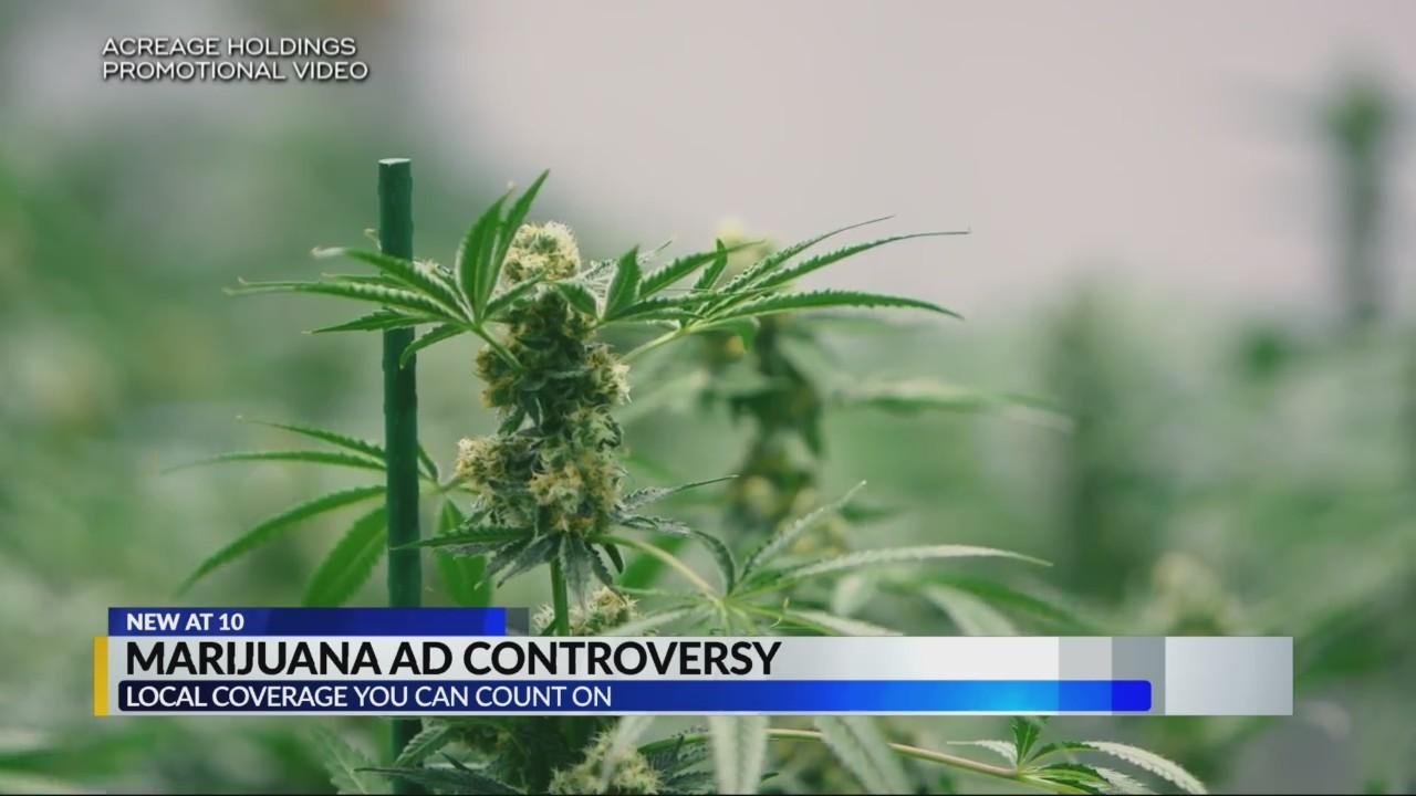 Marijuana ad controversy