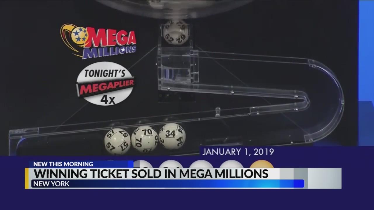 Mega Millions jackpot winner in New York