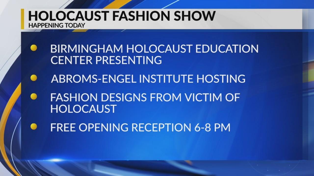 Today: Holocaust Fashion Show