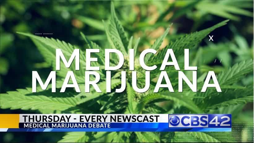 CBS 42 Roadblock: The Medical Marijuana Debate
