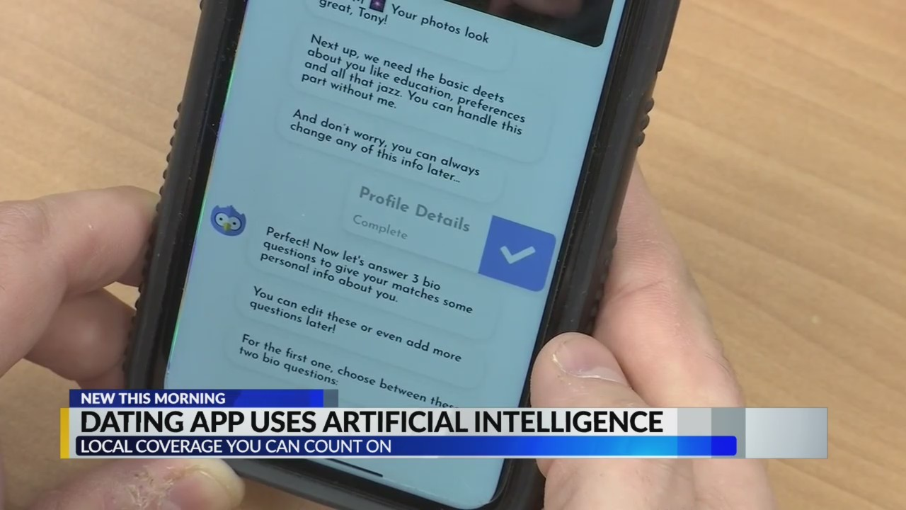 Dating app uses artificial intelligence