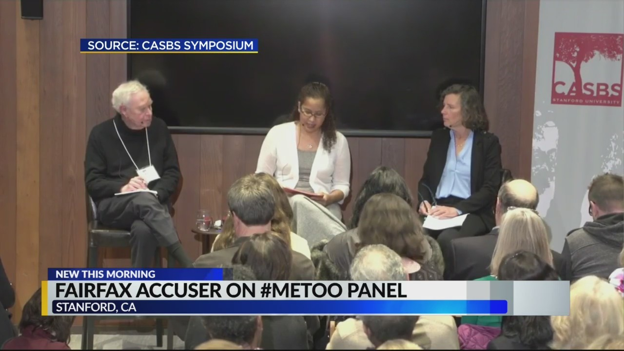 Fairfax accuser on #MeToo panel