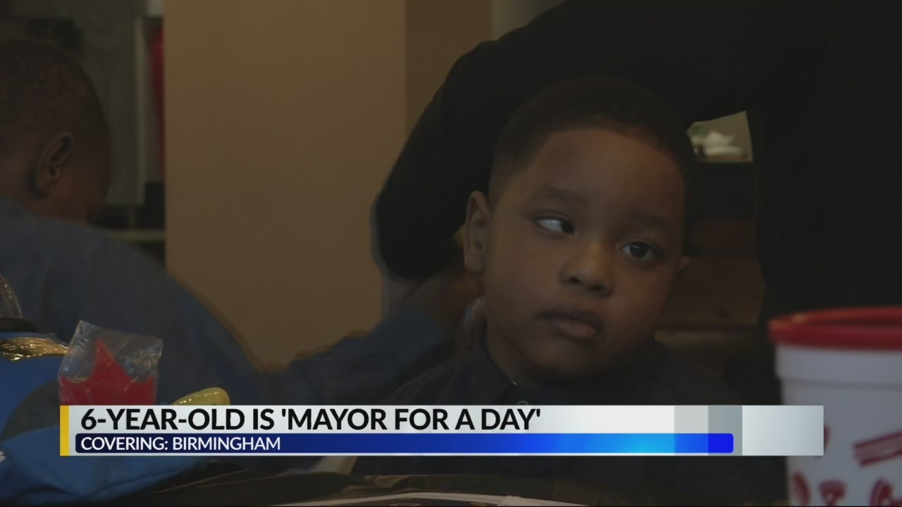6-Year-Old is 'Mayor for a day'