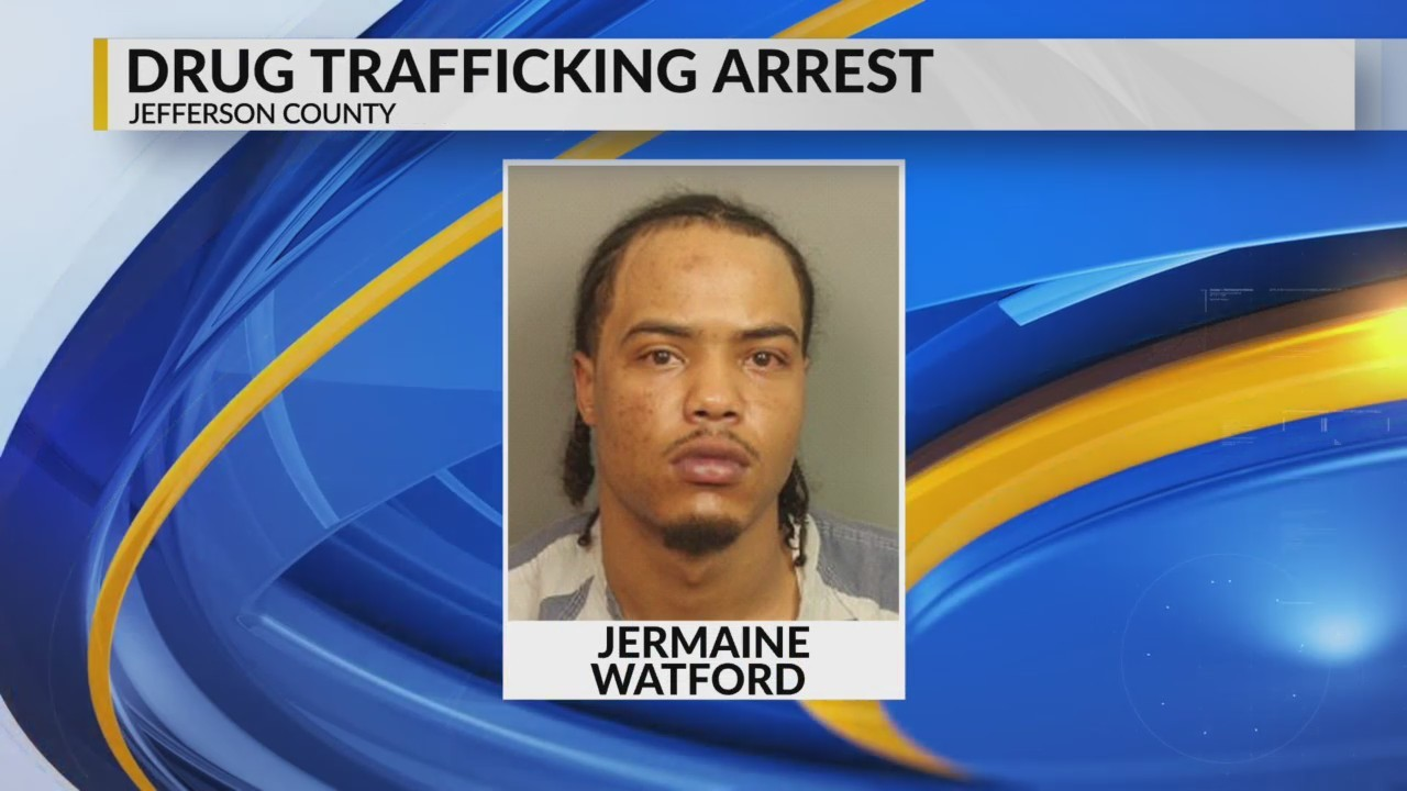 Drug trafficking arrest in Jefferson County
