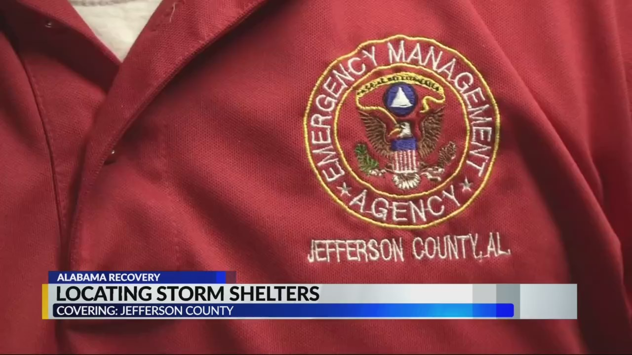 Locating Storm Shelters