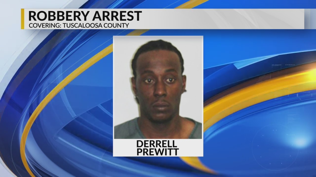 Robbery assault arrest in Tuscaloosa