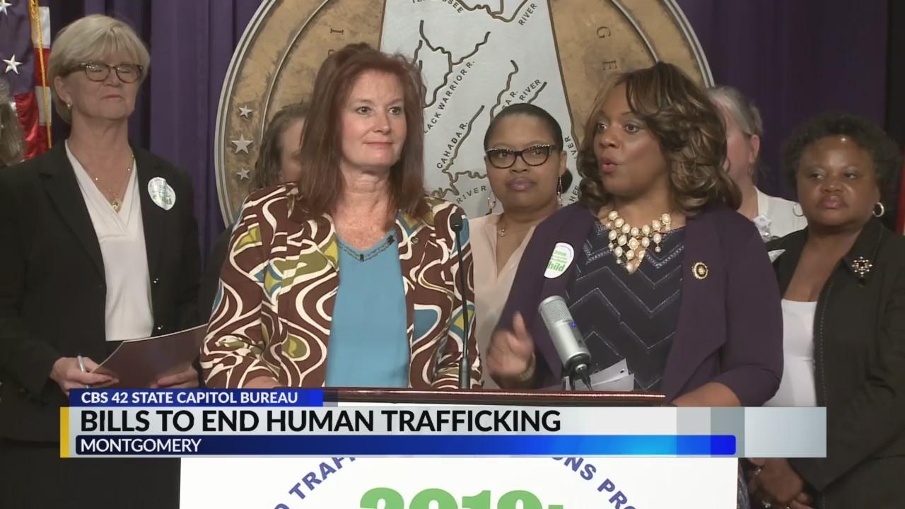 Bills to end human trafficking