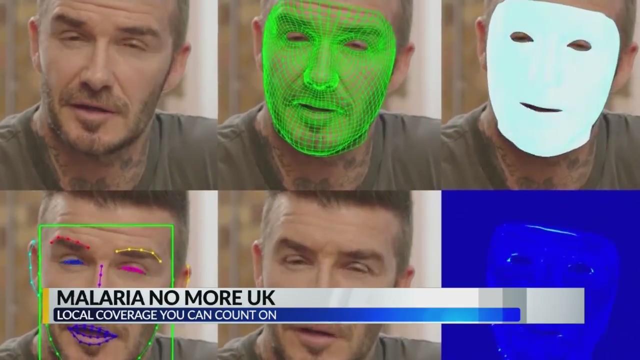"David Beckham and ""Malaria No more UK"""