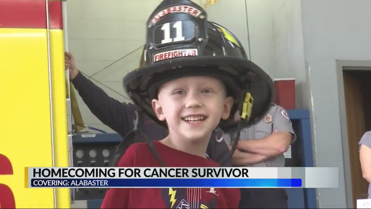 Ex-cancer patient gets special ride home