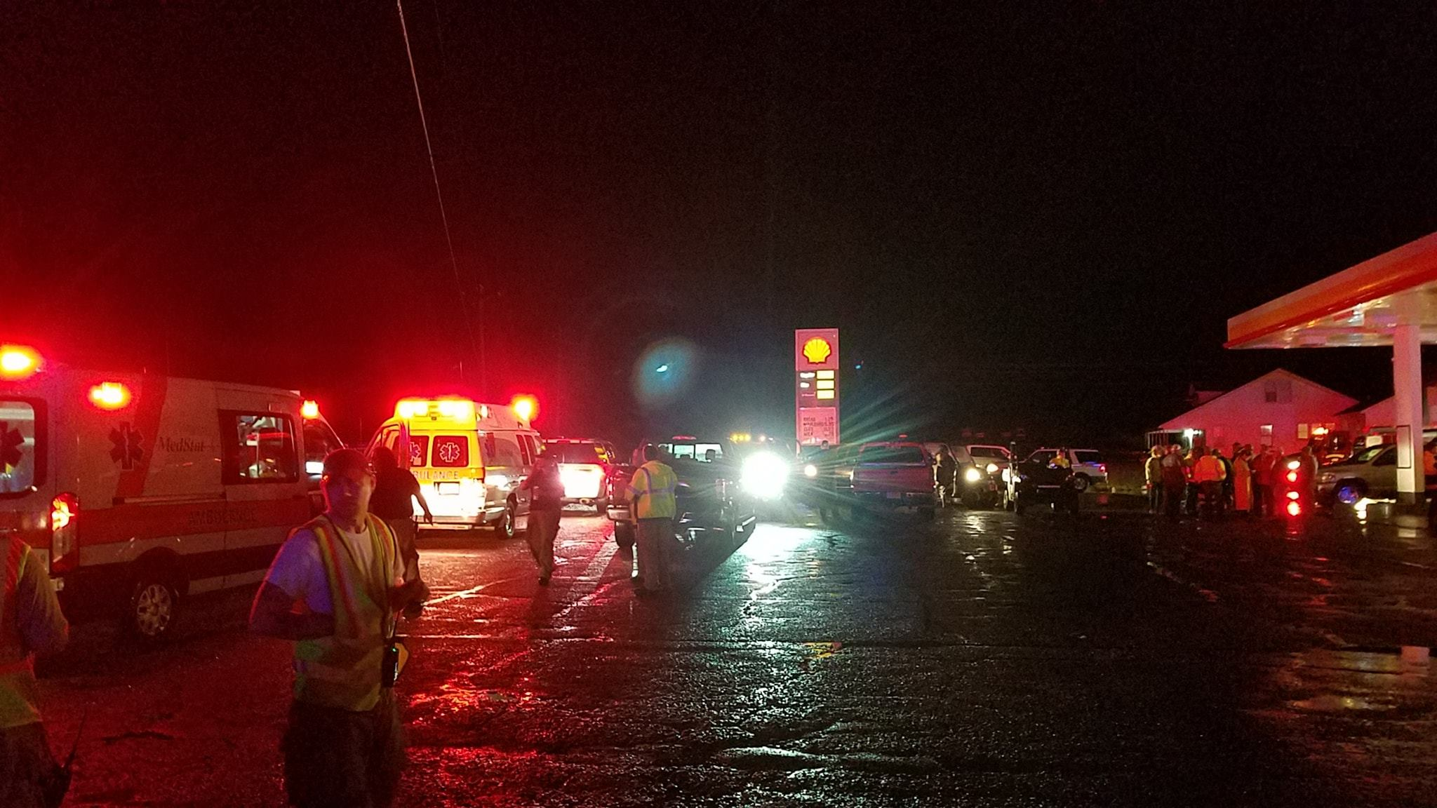 Update: Overnight severe weather claims 1 life in