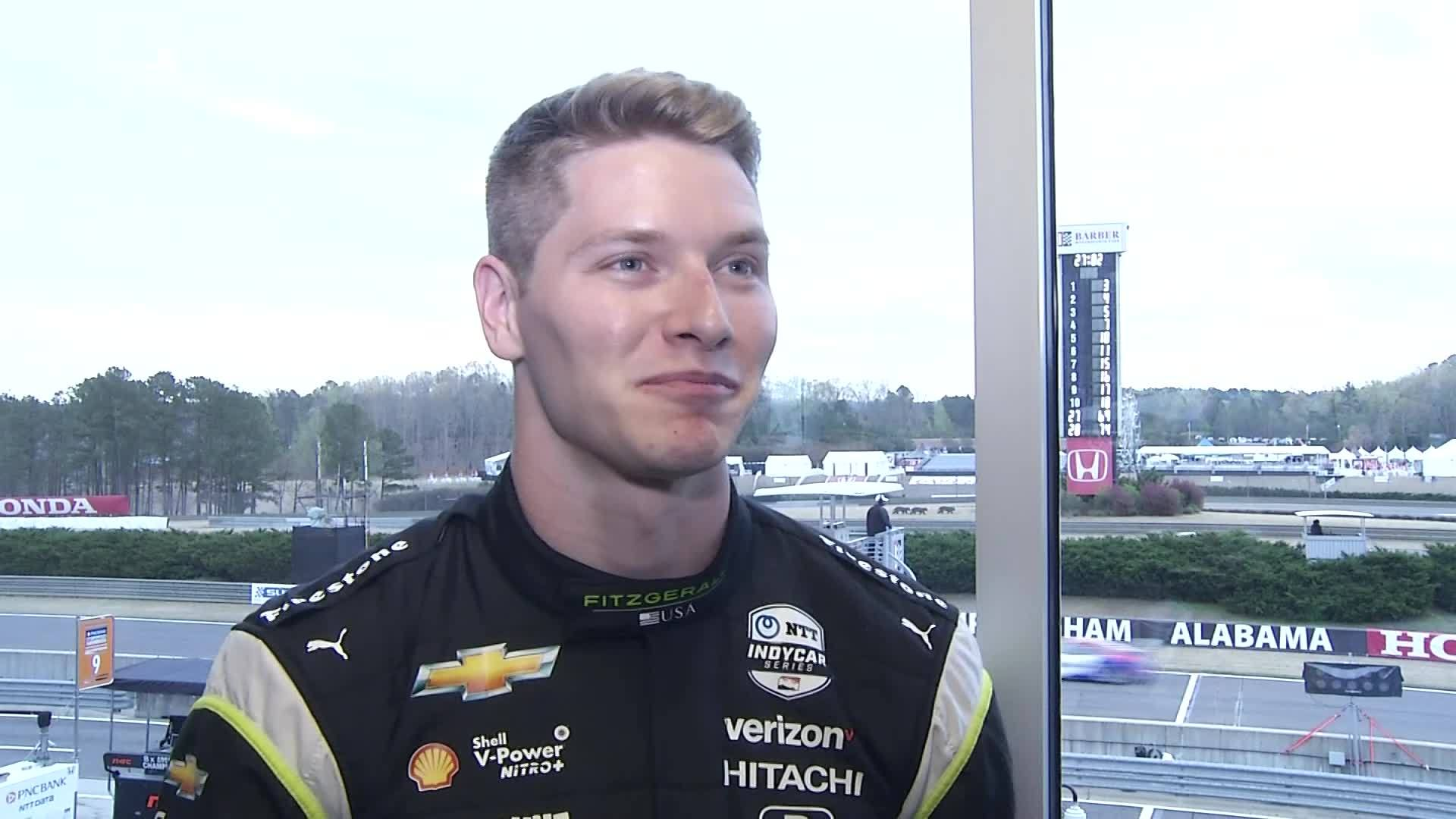 Josef Newgarden talks about being in Birmingham for race at Barber Motorsports for IndyCar Series