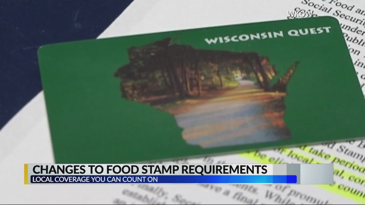 Possible changes for food stamp requirements
