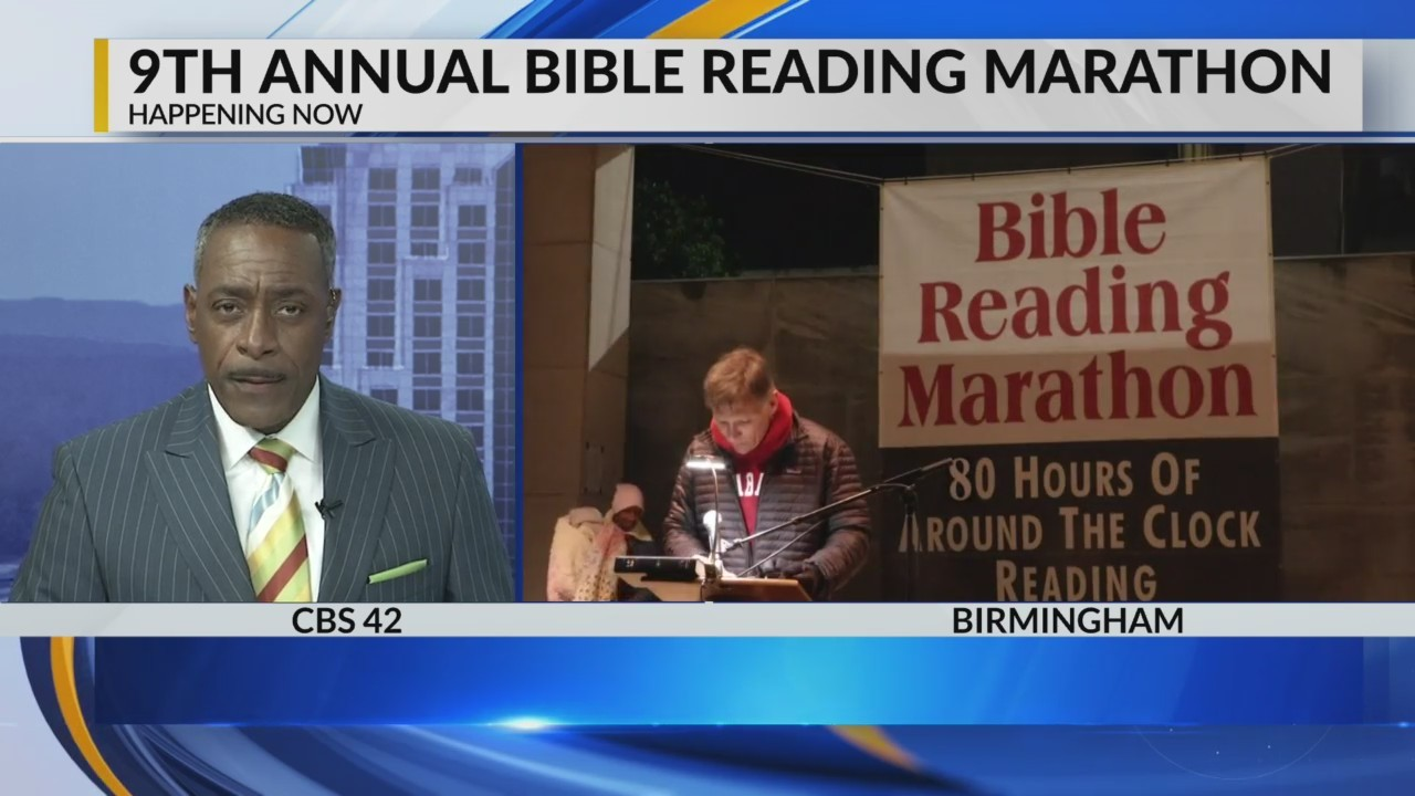 9th Annual Bible Reading Marathon
