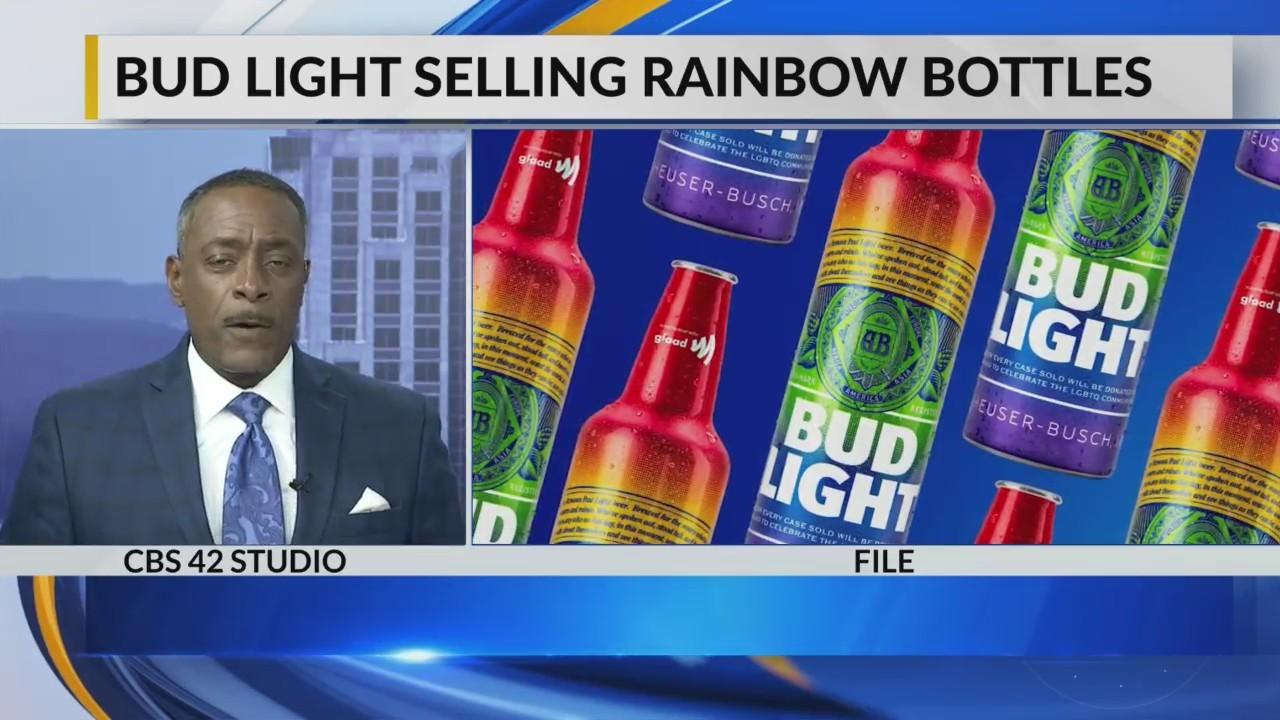 Bud Light sells rainbow bottles