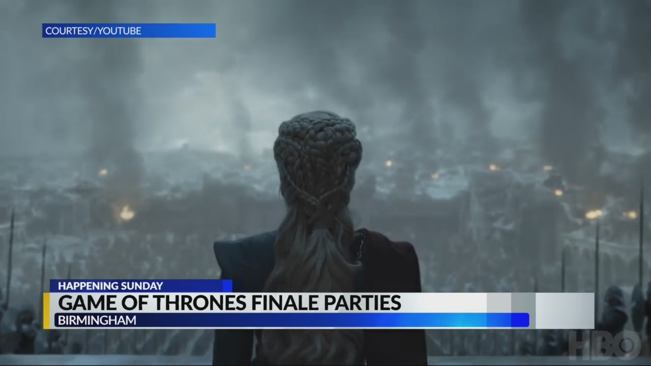 Game of Thrones finale parties in Birmingham