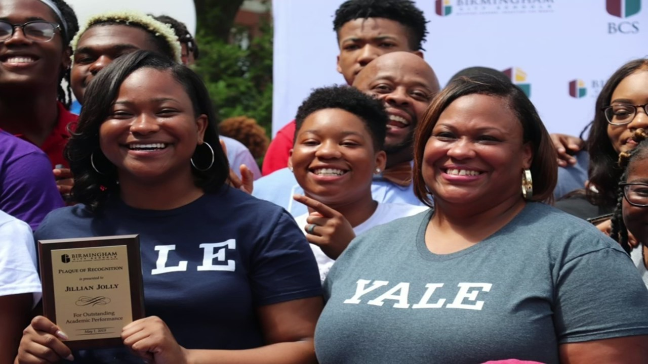 Ramsay High School student accepted to Yale on FULL scholarship