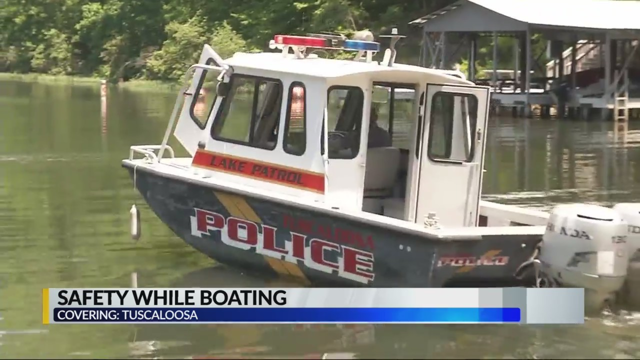 Tuscaloosa police stepping up patrols on lake Tuscaloosa