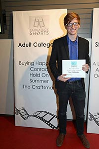 Paul was an award winning finalist in the 2016 Saugatuck Film Festival