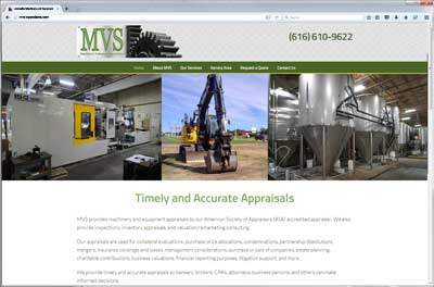 MVS Accredited Machinery and Equipment Appraisals