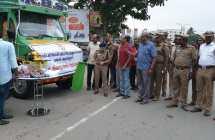 Relief activities for Gaja Cyclone