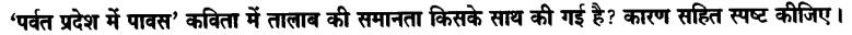 Chapter Wise Important Questions CBSE Class 10 Hindi B - पर्वत प्रदेश में पावस 21