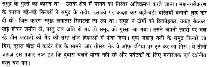 Chapter Wise Important Questions CBSE Class 10 Hindi B - अब कहाँ दूसरे के दुख से दुखी होने वाले 56